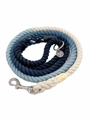 Rope Leash - Midnight Bell - Coco and Chili's Shop