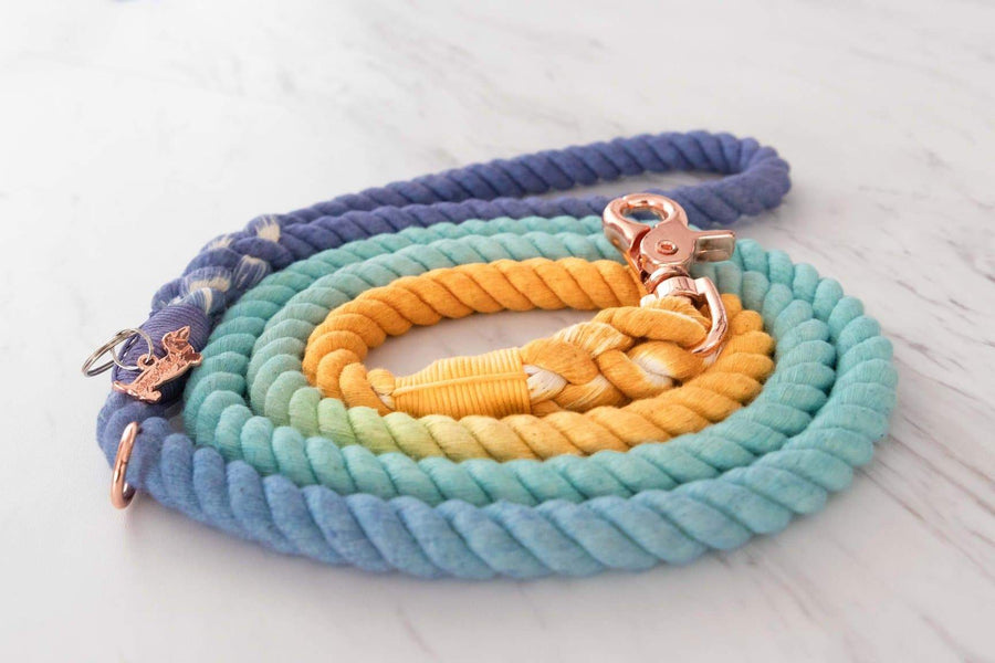 Rope Leash - Sunset - Coco and Chili's Shop