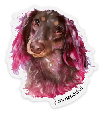 Sticker of Coco, Abstract, 3