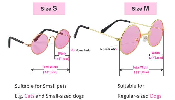 Sunglasses for Dogs - Small - Coco and Chili's Shop