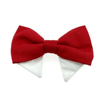 Universal Dog Bow Tie - Solid Red - Coco and Chili's Shop