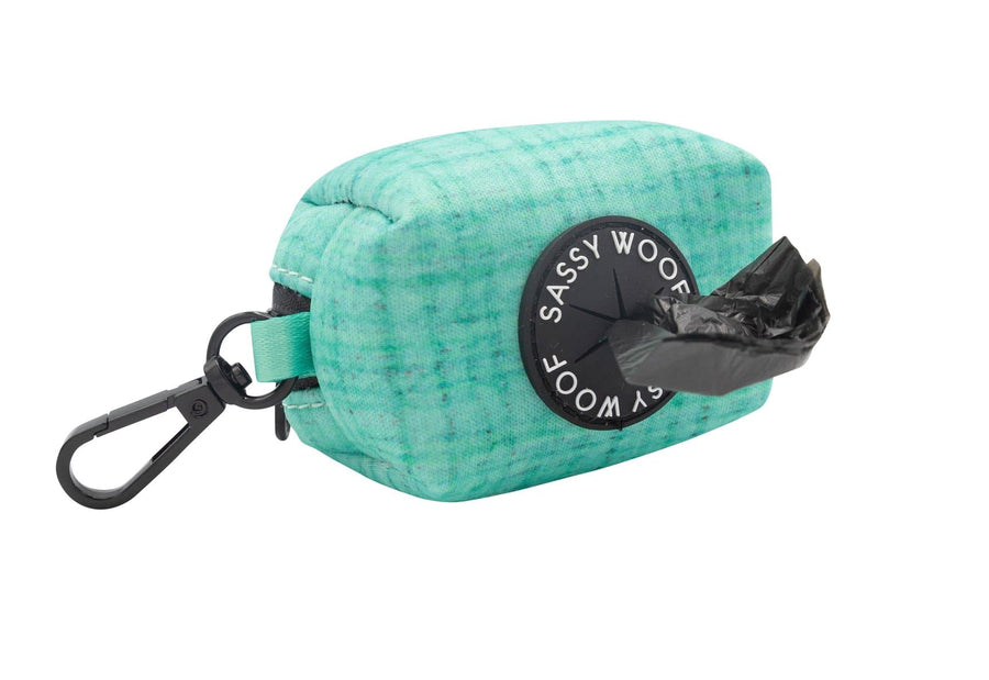 Waste Bag Holder - Wag your Teal - Coco and Chili's Shop