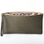 8th Wedding Anniversary Bronze Print Leather Clutch