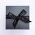 black gift box with ribbon | LiIy Gardner London