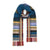 Wallace Sewell Teal Multi-Stripe Scarf | Lily Gardner