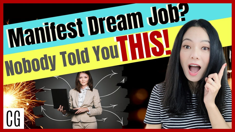 How To Manifest A Dream Job- My secret formula and 3 advanced tips