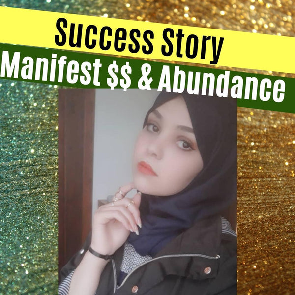 Ibtissem's Success Story After Taking our Choosing Abundance Course!