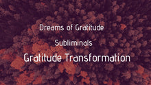 Load image into Gallery viewer, Subliminal: Gratitude Life Transformation - Choosing Gratitude