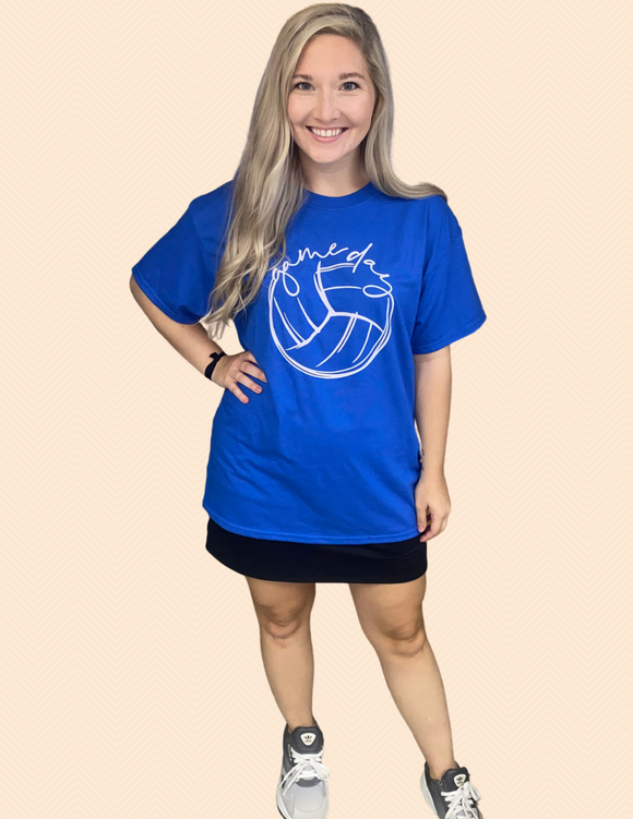 Volleyball Game Day Tee
