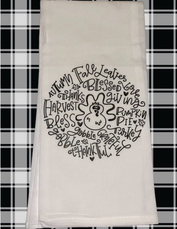 Thanksgiving Dish Towel