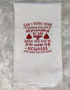 Christmas Vacation Dish Towel