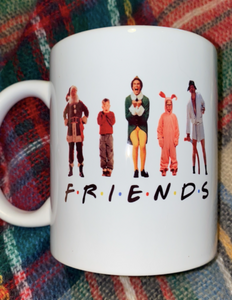 Friends Christmas Inspired Mug