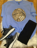 Leopard Print Basketball Shirt