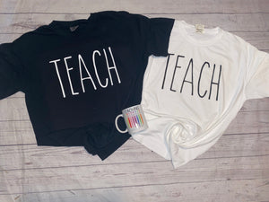 TEACH Comfort Colors Tee
