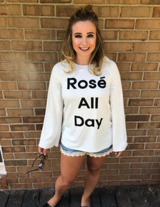Rose All Day Graphic Shirt