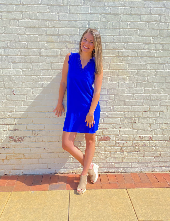 Traveling Blues Dress