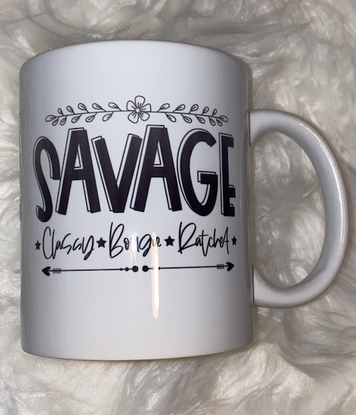 Savage Coffee Mug