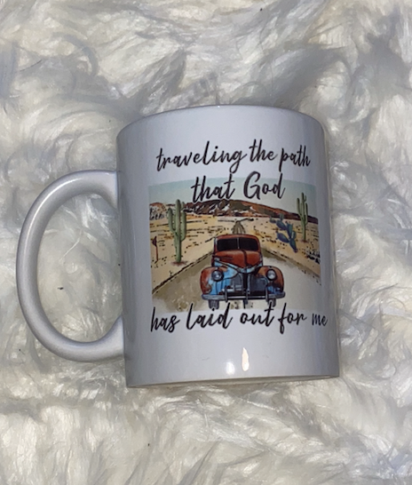 Traveling The Path Coffee Mug