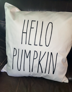 Hello Pumpkin Pillow