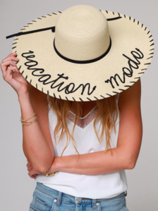Vacation Mode Beach Hat