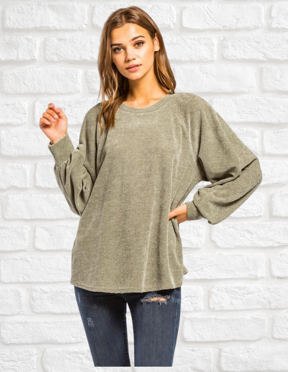 Lover Sweater- Sage