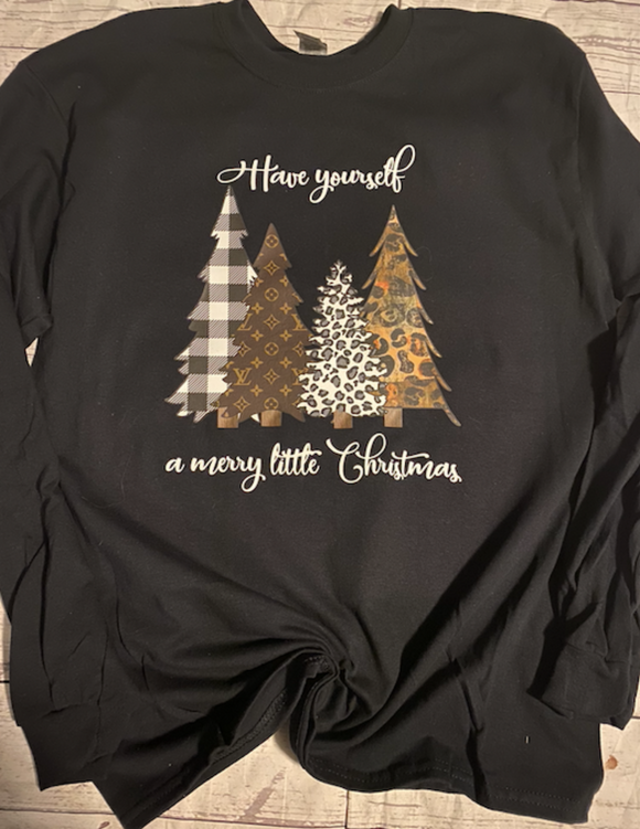 Have Yourself a Merry Little Christmas LV Shirt