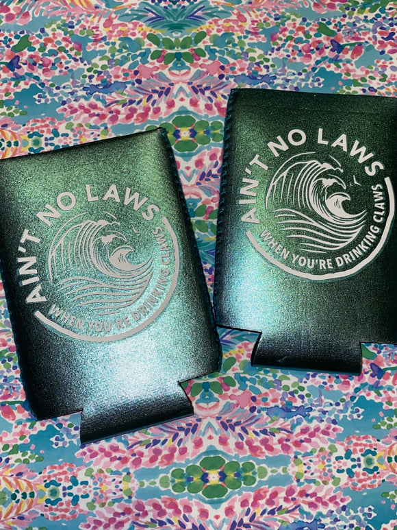 Teal Metallic - Ain't No Laws Can Holder