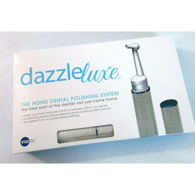 Dazzle Electric Toothbrush Polishing & Stain Removal System  *