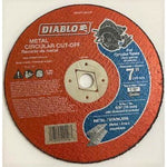 Diablo 7 in. x 1/8 in. x 5/8 in. Metal Cut-Off Disc (10-Pack)