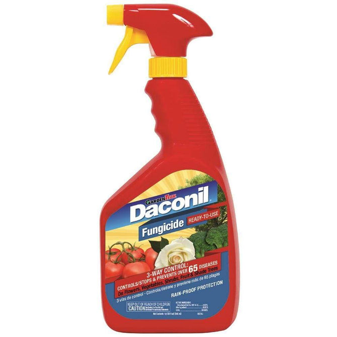 Garden Tech 32 oz Daconil Fungicide Ready To Use - 6 / 1 qt (32 fl oz) Bottles  *