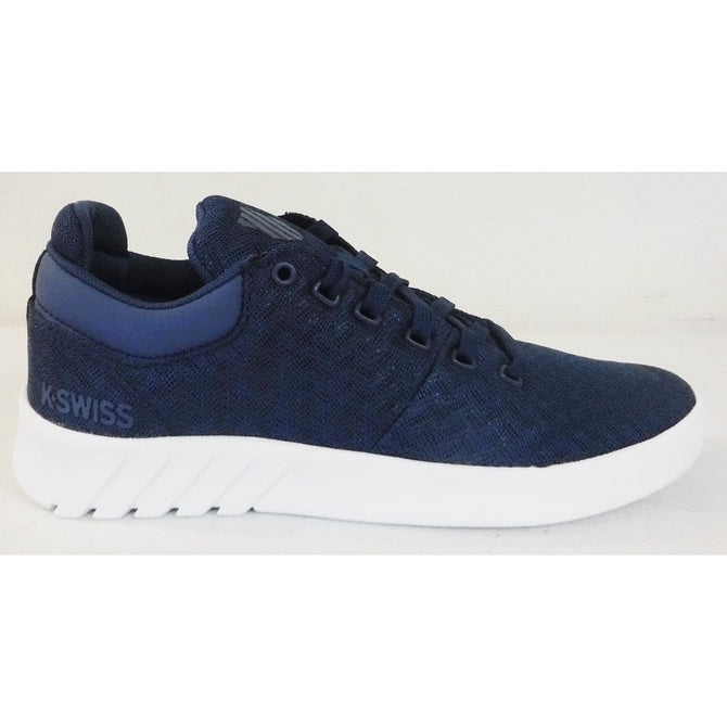 K-Swiss Women's Aero Trainer T Sneaker, Bijou Blue/White 95472-435-M  *