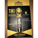NITECORE TIKI 300 Lumen USB Rechargeable Keychain Flashlight with UV & High CRI