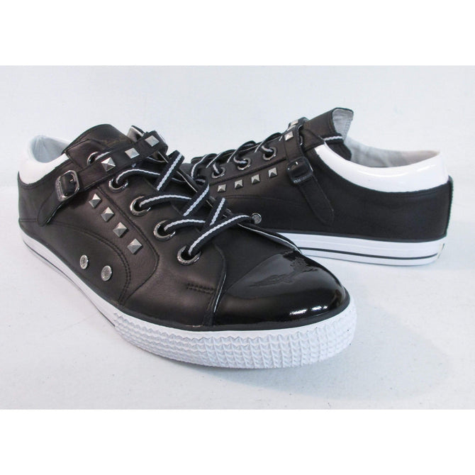 Robins Jean Men's Fashion Nathan Black Sneaker RJSS10NA102 *