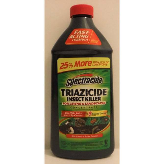 Spectracide Triazicide Insect Killer For Lawns & Landscapes 40 oz  *