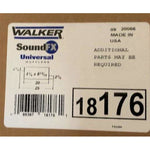 Walker SoundFX Universal Exhaust Muffler 18176