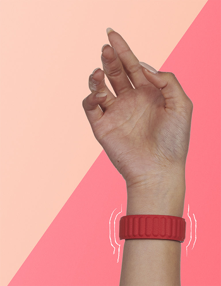 Red straps for Apple Watch