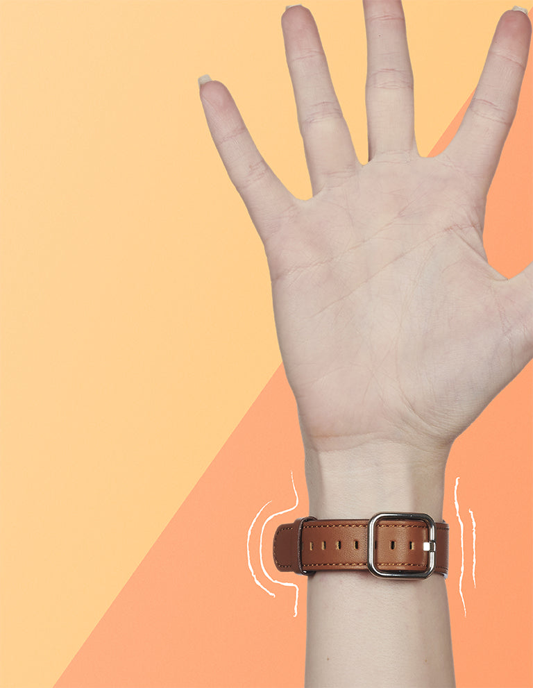 Brown straps for Apple Watch