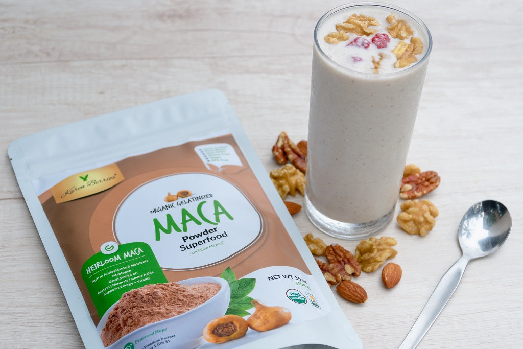 ICE COLD MACA SMOOTHIE