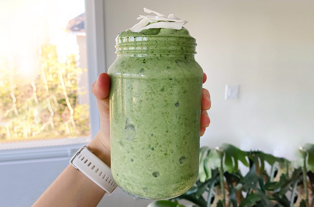 CHLOE'S GREEN SMOOTHIE
