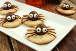 CACAO & LUCUMA HALLOWEEN SPIDER COOKIES🎃... HEALTHY TREATS!