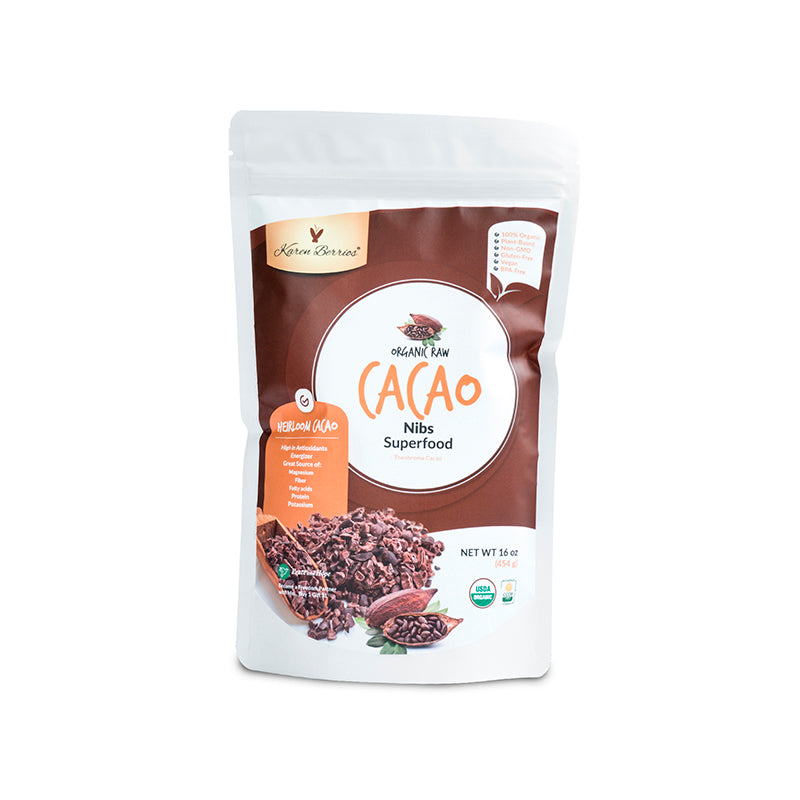 ORGANIC RAW CACAO NIBS SUPERFOOD
