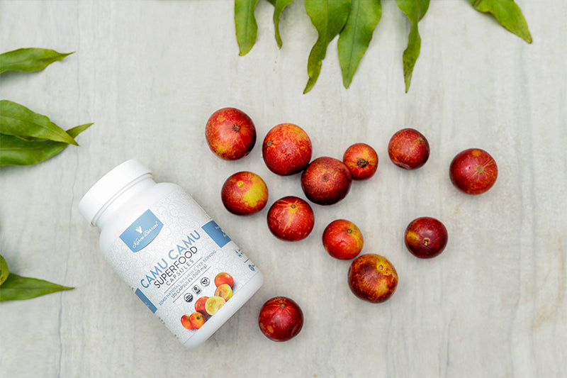 ORGANIC RAW CAMU CAMU SUPERFOOD CAPSULES