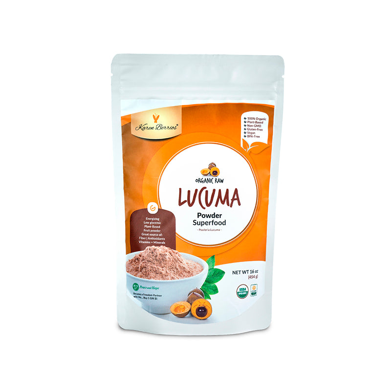 ORGANIC RAW LUCUMA POWDER SUPERFOOD