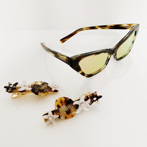 Francoise Style Tortoiseshell Brown Sunglasses at Born In The Sun - Borninthesun