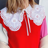 Broderie Anglaise Collar - Borninthesun