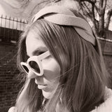 Black Scalloped shape Headband at Born In The Sun - Borninthesun