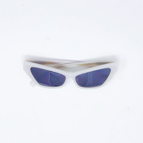 Francoise Style White Blanche Sunglasses at Born In The Sun - Borninthesun