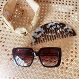 Capri Style Brown Sunglasses at Born In The Sun - Borninthesun