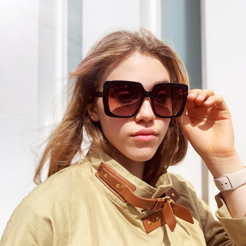 Capri Brown Sunglasses