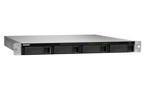 TS-983XU-RP-E2124-8G QNAP 1U 9-Bay 10GbE NAS and iSCSI IP-SAN DISKLESS